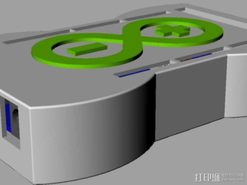 R3盒子 3D打印模型渲染图