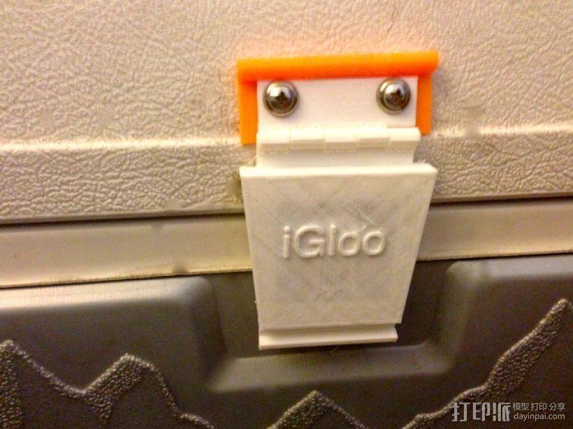 冷却器门闩替换 3D打印模型渲染图