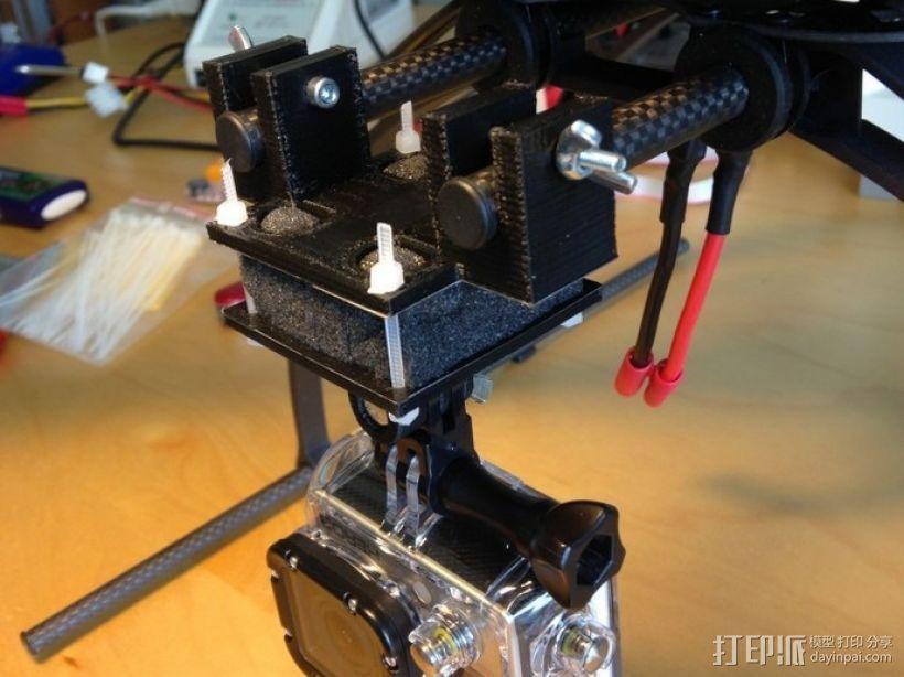 摄影机座架 3D打印模型渲染图