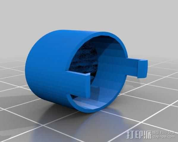 Fatshark相机镜头盖 3D打印模型渲染图