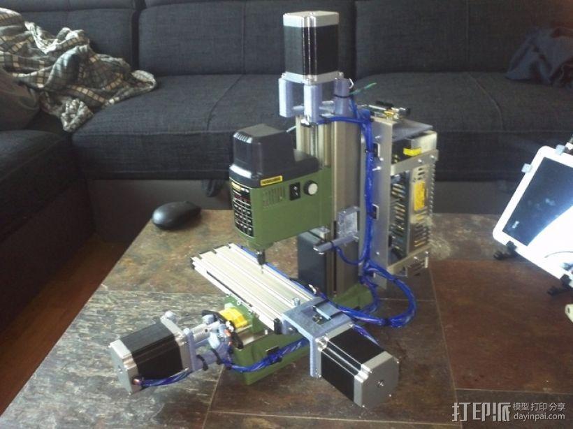发动机支架 3D打印模型渲染图