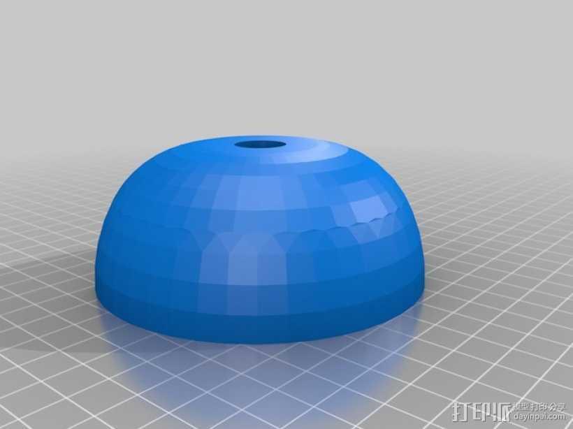 攀岩架4 3D打印模型渲染图