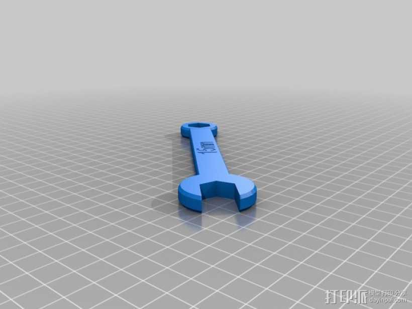 15mm 扳手 3D打印模型渲染图