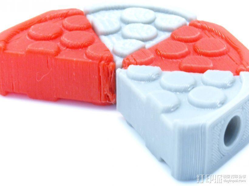 披萨形阀盖 3D打印模型渲染图
