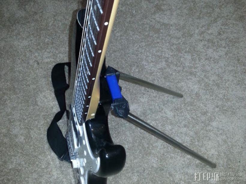 吉他固件 3D打印模型渲染图