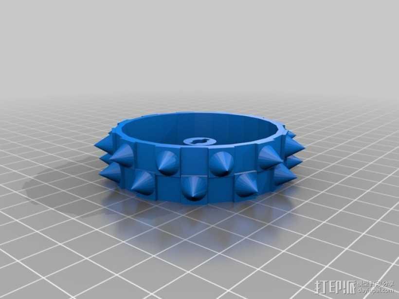 钉轮 3D打印模型渲染图