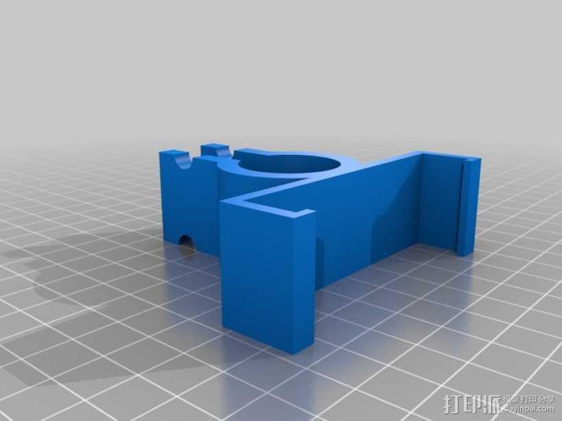 自行车手机支架 3D打印模型渲染图