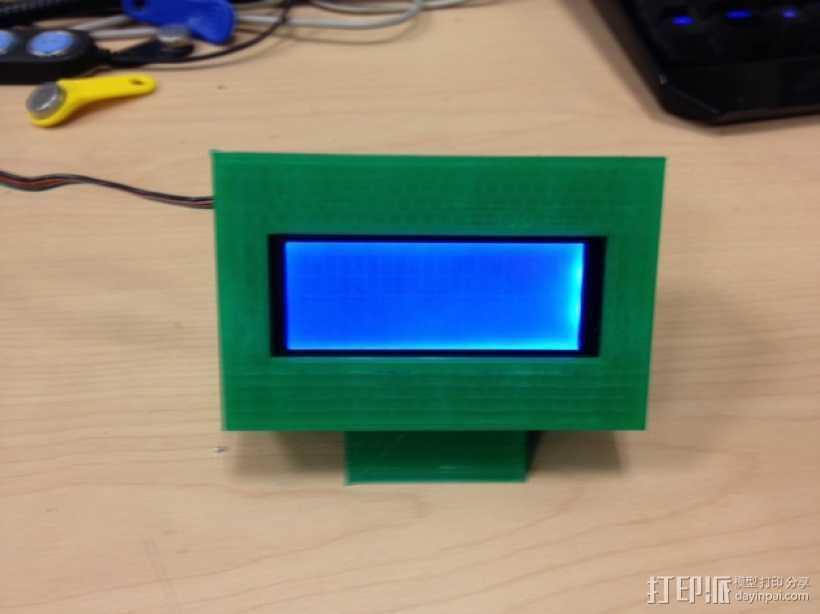 外部展示柜 3D打印模型渲染图