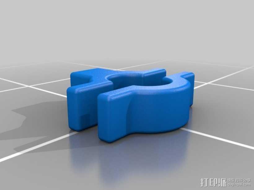 摩托车把手 3D打印模型渲染图