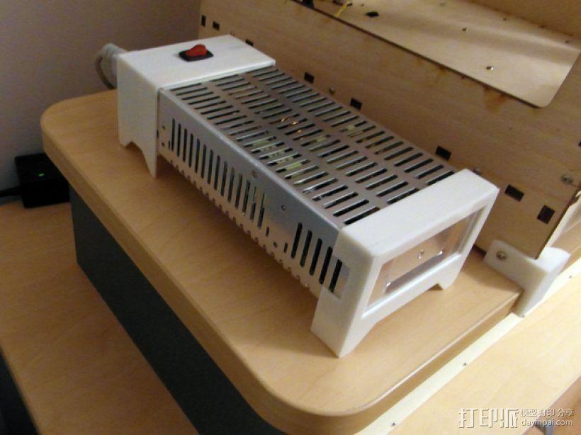 电力供应盒 3D打印模型渲染图