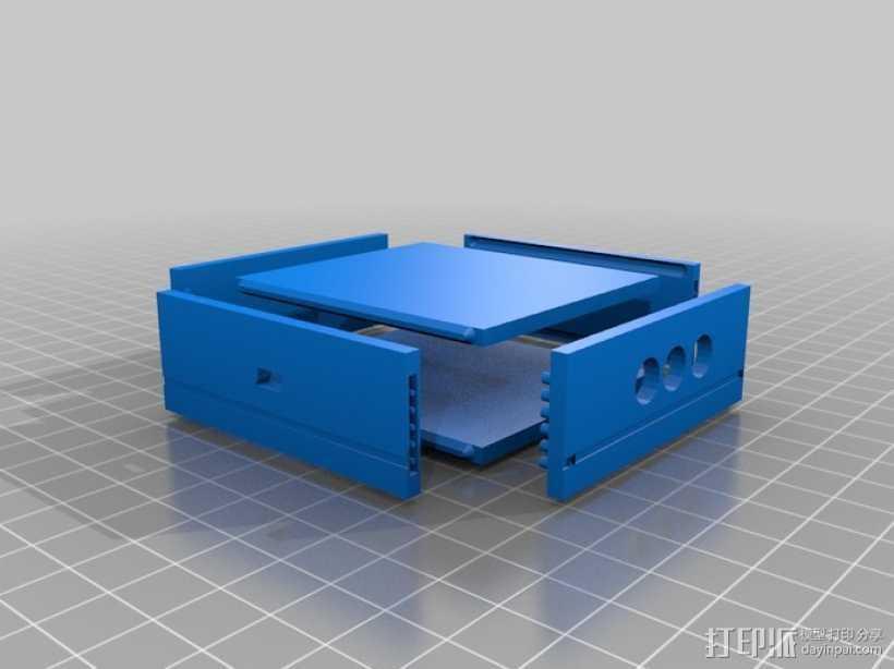 芯片围栏 3D打印模型渲染图