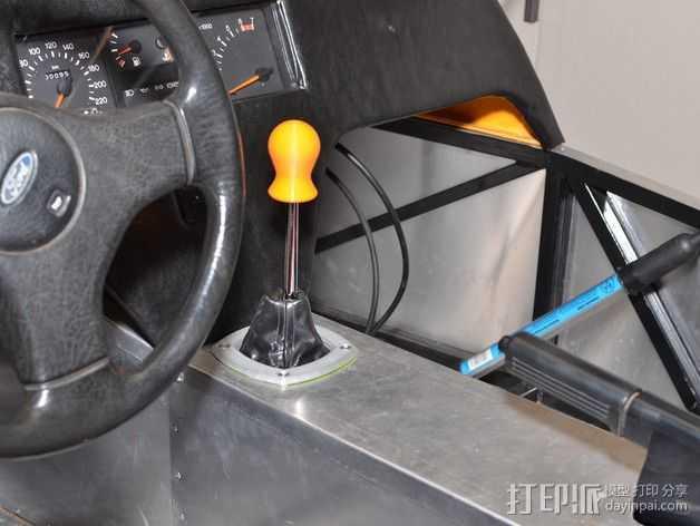 齿轮旋钮 3D打印模型渲染图