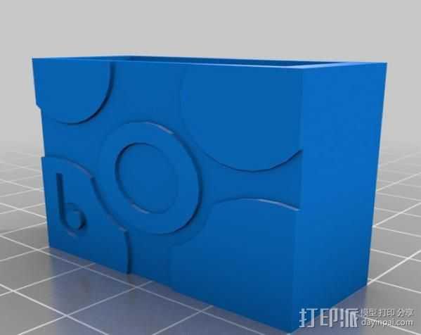 电气盒 3D打印模型渲染图