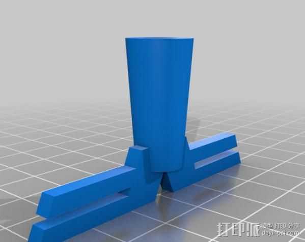 触摸式 ToeN 3D打印模型渲染图