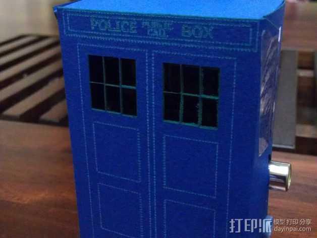 PI盒子 3D打印模型渲染图