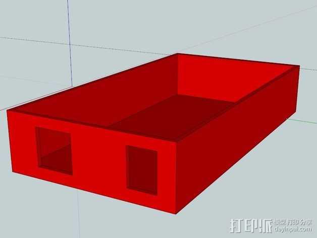 置物盒 3D打印模型渲染图