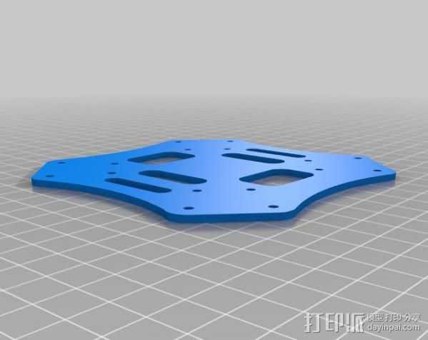 顶板 3D打印模型渲染图