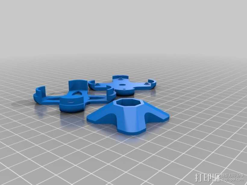 GPS壳子 3D打印模型渲染图
