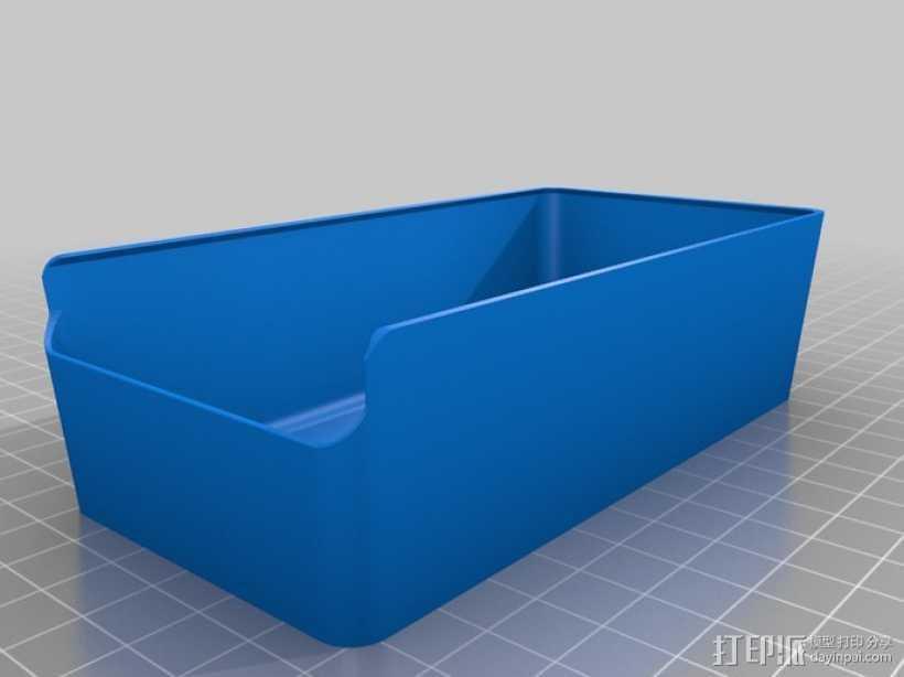 零散物件盒 3D打印模型渲染图