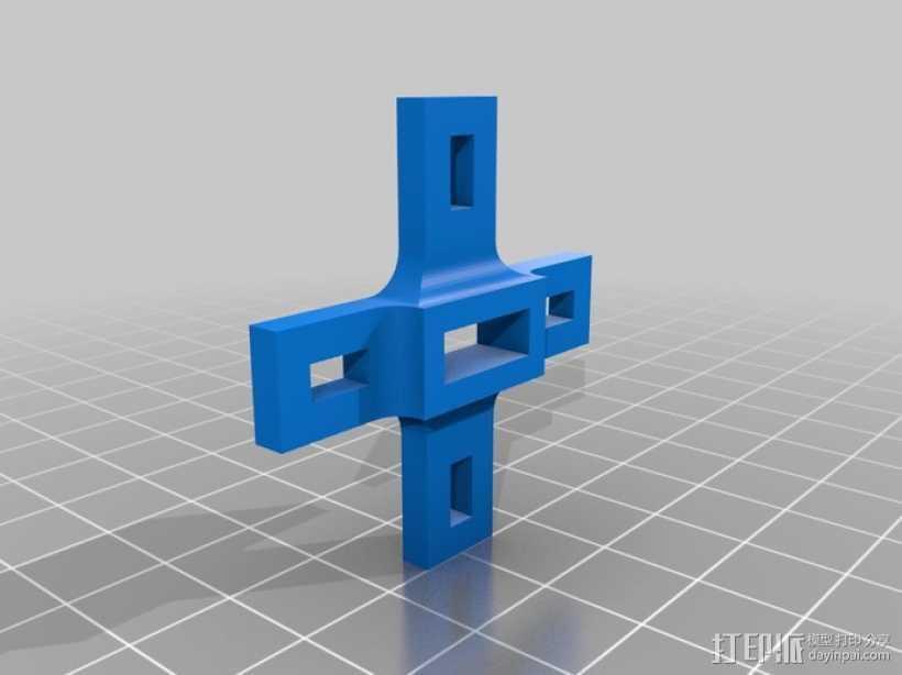 3DR 无线电 3D打印模型渲染图