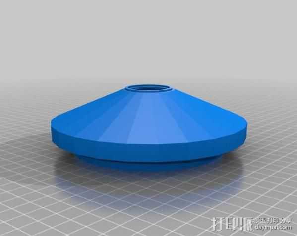 运动传感器外壳 3D打印模型渲染图