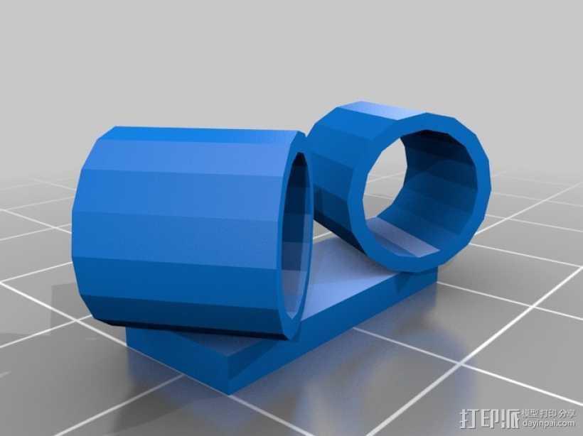 电话机座 3D打印模型渲染图