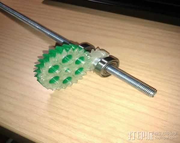 概念数控器 3D打印模型渲染图