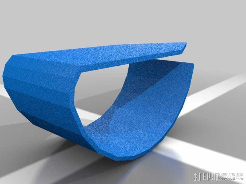 拇指保护套 3D打印模型渲染图