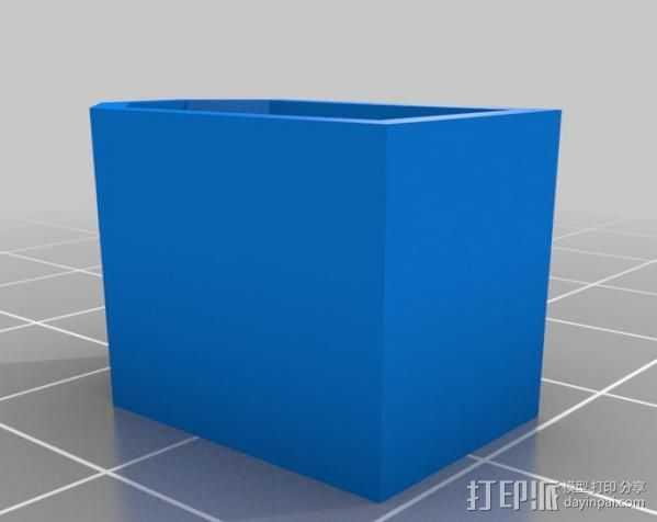 XT60印刷帽 3D打印模型渲染图