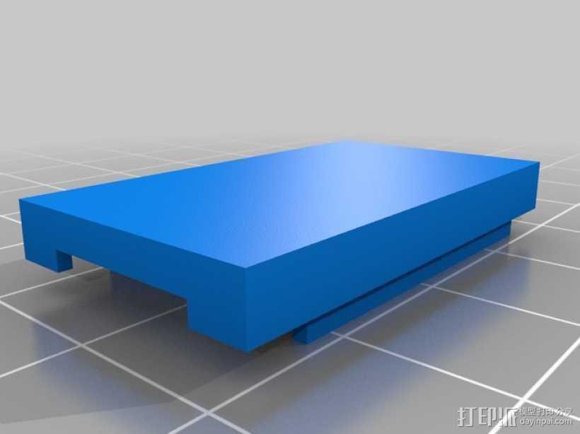 FTDI 适配器外壳 3D打印模型渲染图