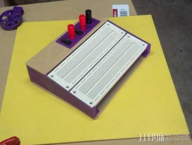 参数案板工作站 3D打印模型渲染图