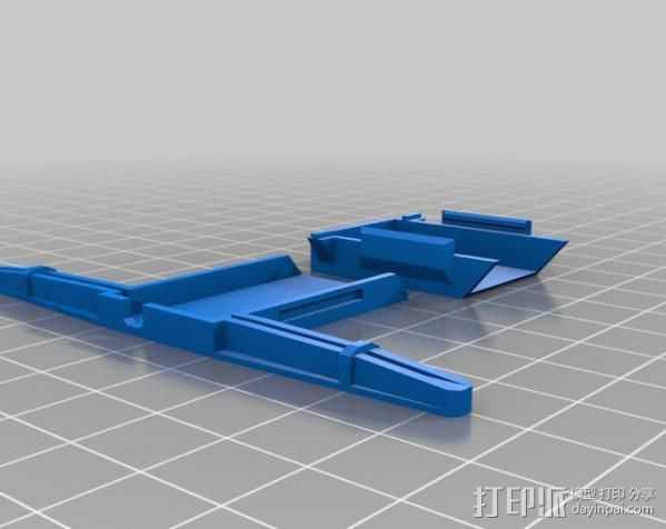 AR 6100E盖子 3D打印模型渲染图