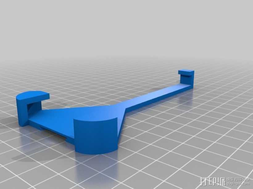 iPhone 5自行车固定支架 3D打印模型渲染图