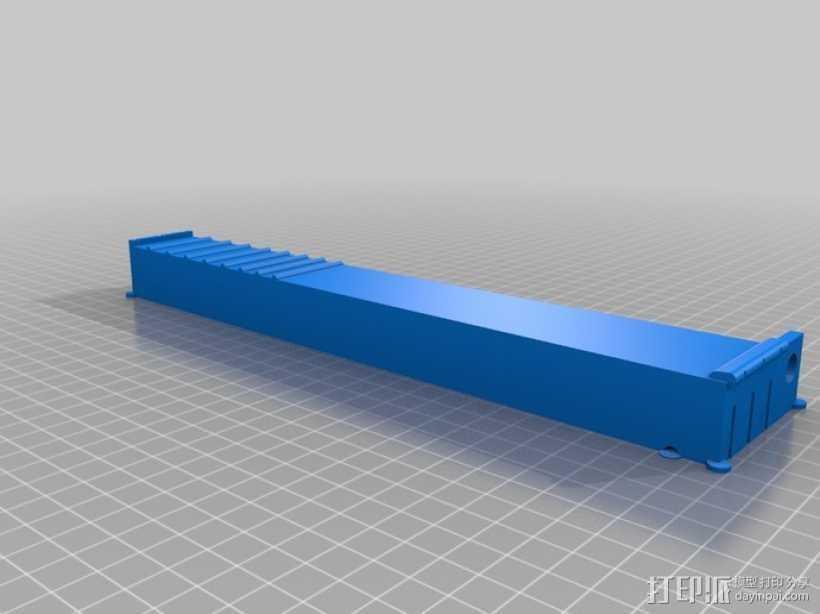 电子乐器组件 3D打印模型渲染图