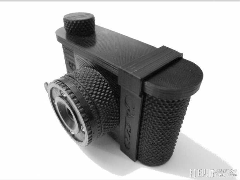 针孔照相机 3D打印模型渲染图