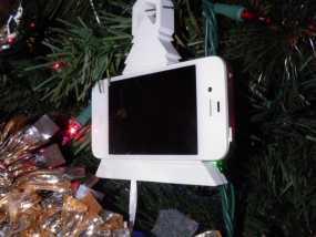 圣诞装饰品:iPhone音乐播放器