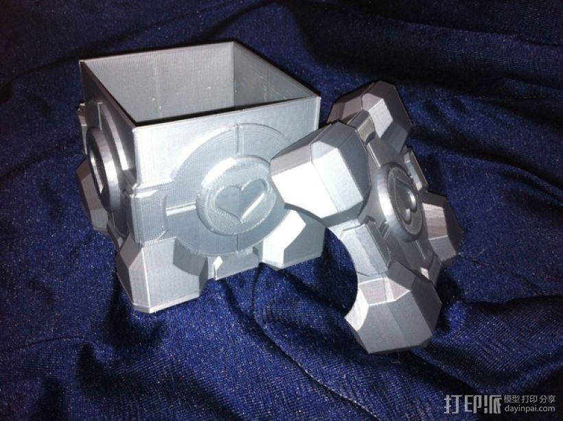 立方体礼品盒 3D打印模型渲染图