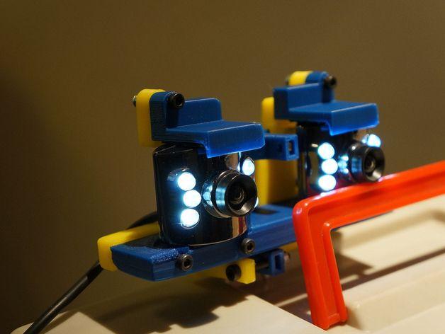 摄像机底座 3D打印模型渲染图