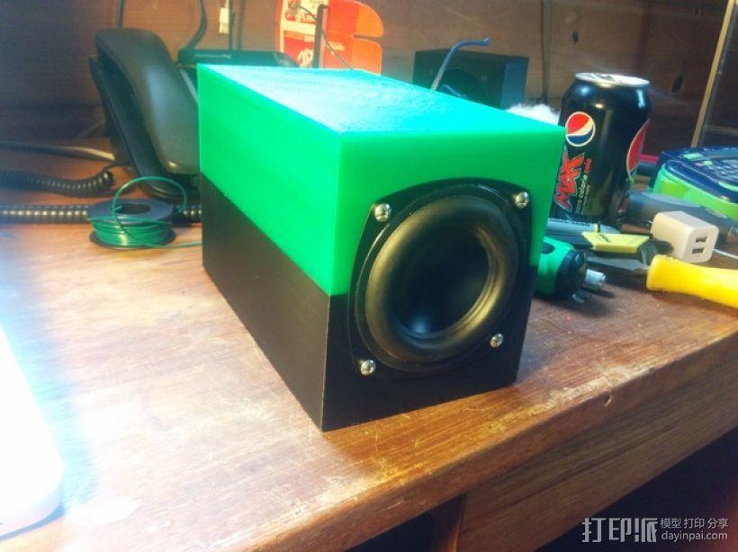 SpeakerGen扬声器外壳 3D打印模型渲染图