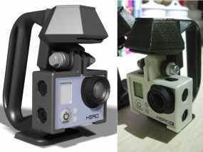 便携式GoPro Hero 3相机固定装置