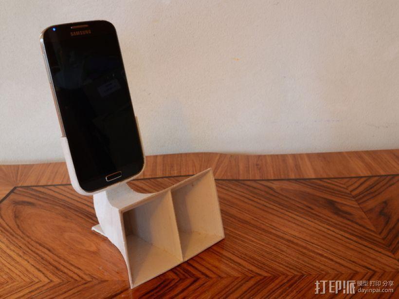 三星Galaxy S4手机扬声装置 3D打印模型渲染图