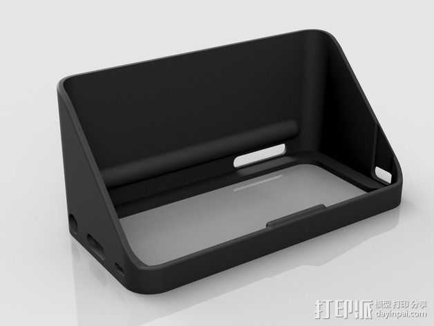 iPhone5遮光罩 3D打印模型渲染图