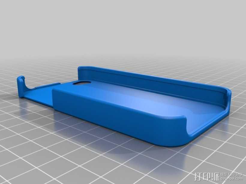 iPhone 4/4s 手机外壳 3D打印模型渲染图