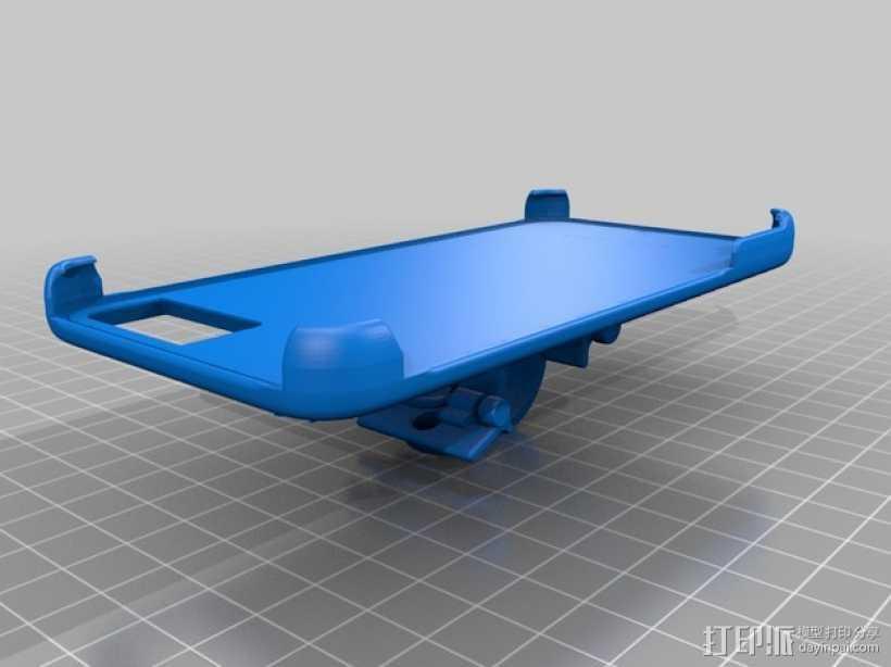 iPhone 6手机后盖保护壳 3D打印模型渲染图