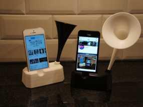 Iphone 4, 4S, 5 ,5s手机扩音器支架