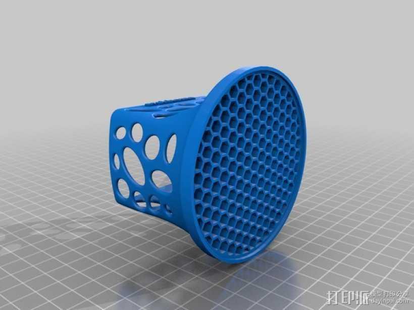 投影机防尘罩 保护罩 3D打印模型渲染图