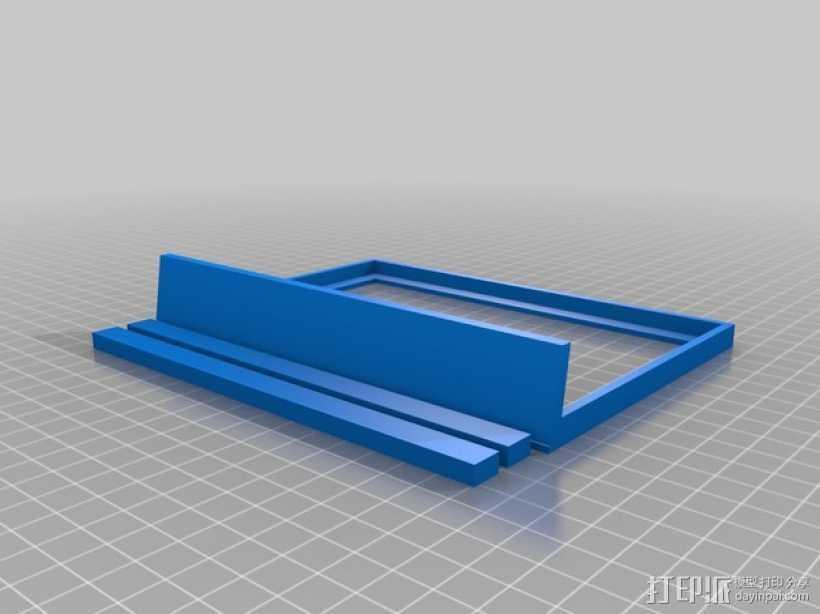 相框 3D打印模型渲染图