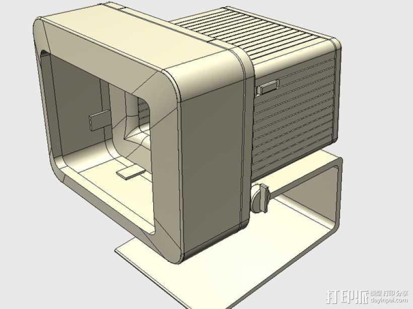 苹果电脑模型 3D打印模型渲染图