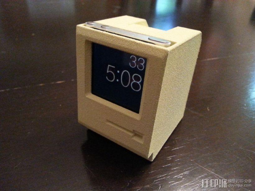 Mac iPod Nano苹果播放器保护盒 3D打印模型渲染图