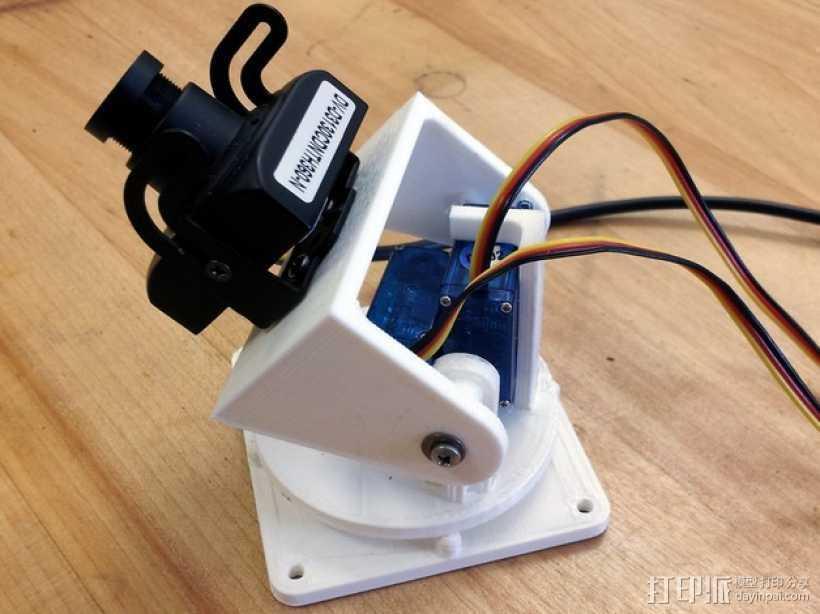 马达相机架 3D打印模型渲染图